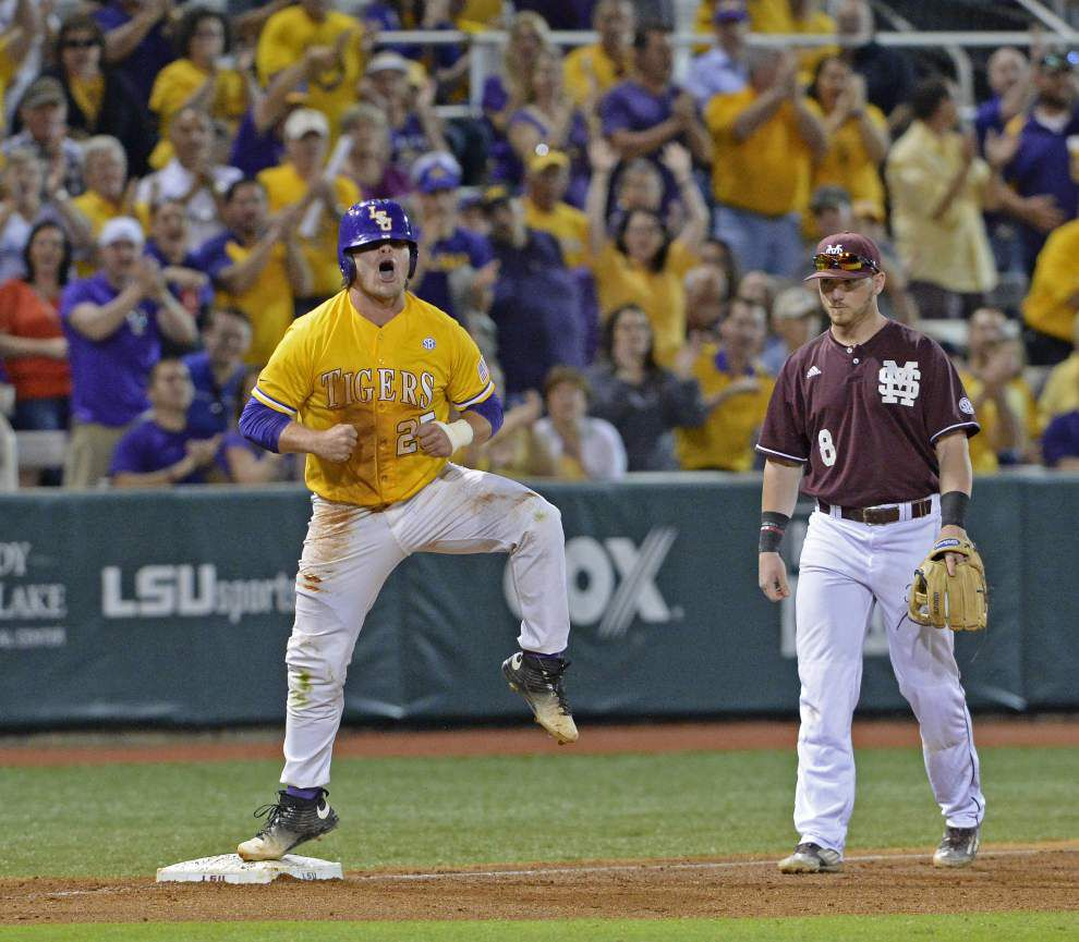 Follow live as LSU baseball looks to bounce back vs. Mississippi State _lowres