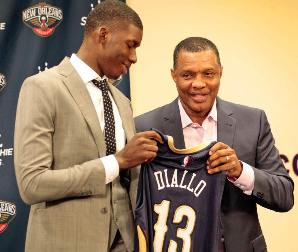 Why the Pelicans believe Cheick Diallo, their second-round pick, was worth the gamble _lowres