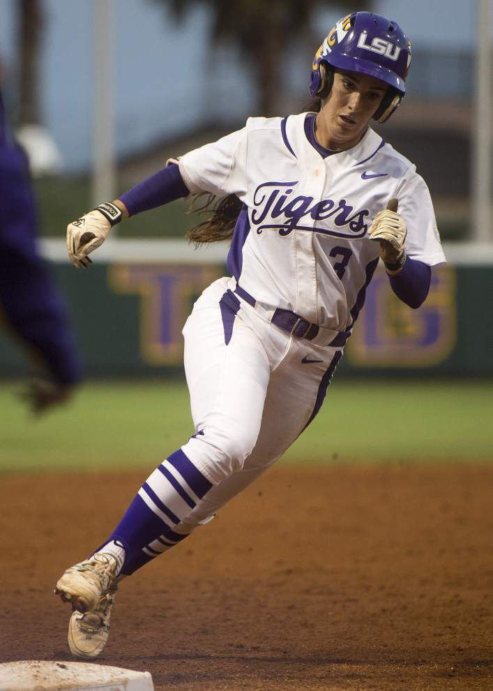 LSU welcomes another chance against Michigan in the Women's College World Series _lowres