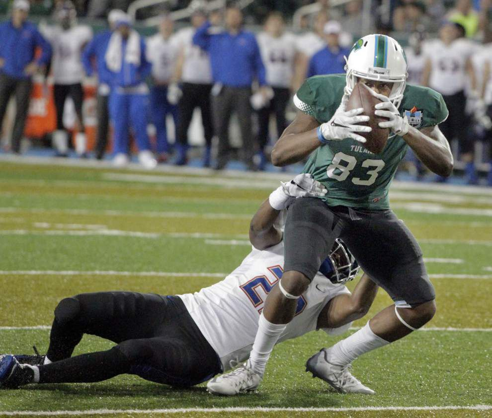 Tulsa 45, Tulane 34: Fairy-tale ending doesn't come true for Curtis Johnson, Jordy Joseph or Tulane _lowres
