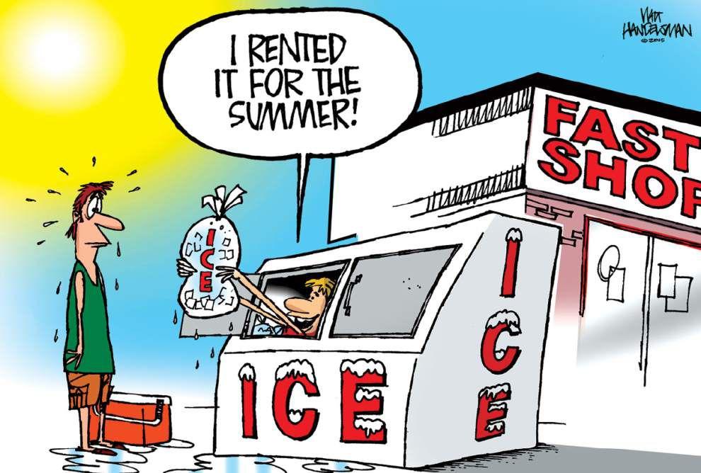 Walt Handelsman: Summer Heat caption contest winner! _lowres