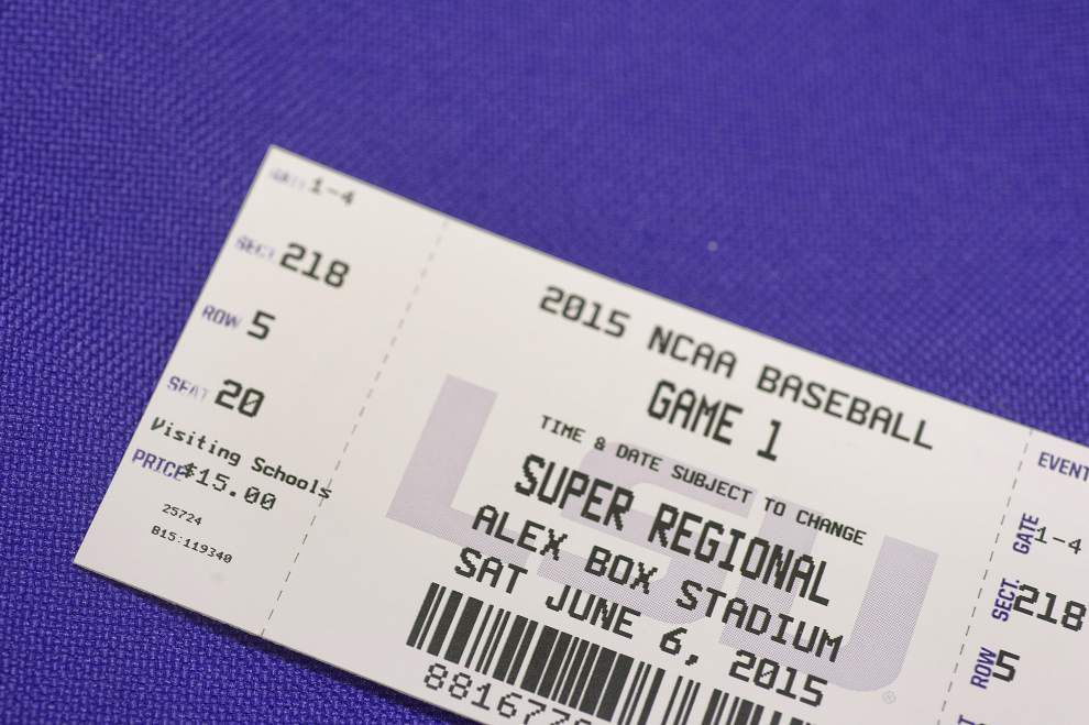 Special access: LSU offers to sell all House, Senate members tickets to super regional vs. UL-Lafayette _lowres