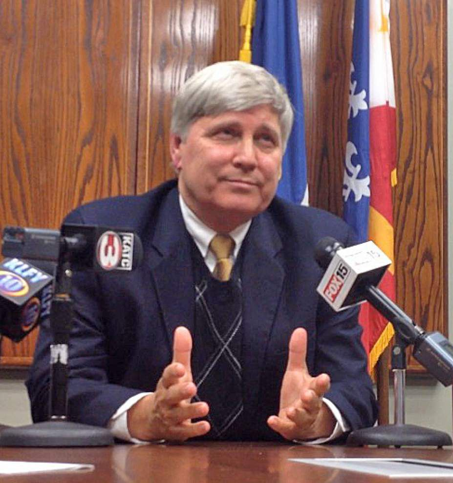 Neustrom says he won't seek re-election as Lafayette sheriff _lowres