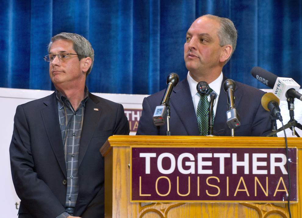 Poll: John Bel Edwards above 50 percent, has double-digit lead over David Vitter _lowres