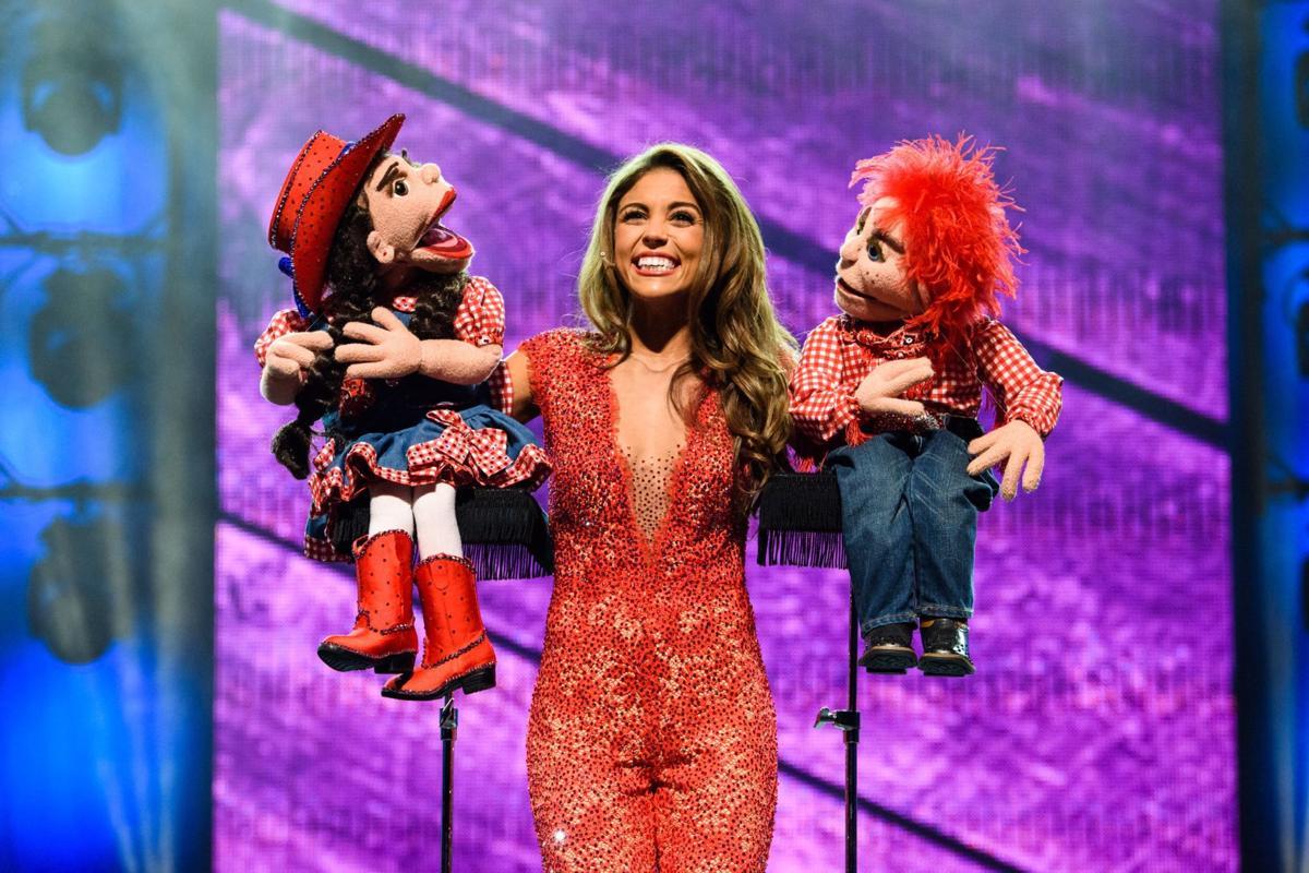Miss Louisiana a humorous ventriloquist, but her platform is dead ...