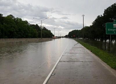 Interstate 10 closed due to flooding