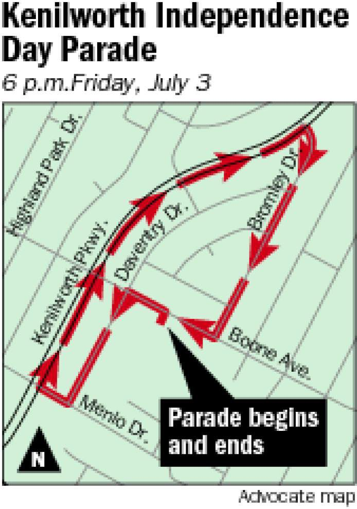 Kenilworth parade rolls Friday to celebrate Independence Day _lowres