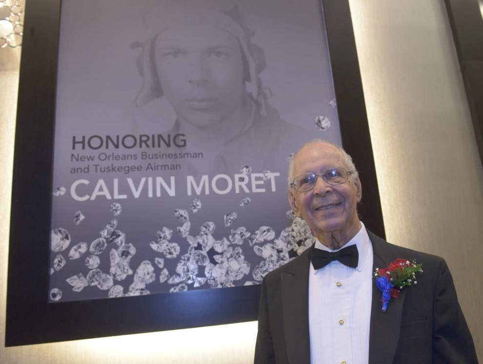 WWL-TV: Last Louisiana member of Tuskegee Airmen, Calvin Moret, dies _lowres