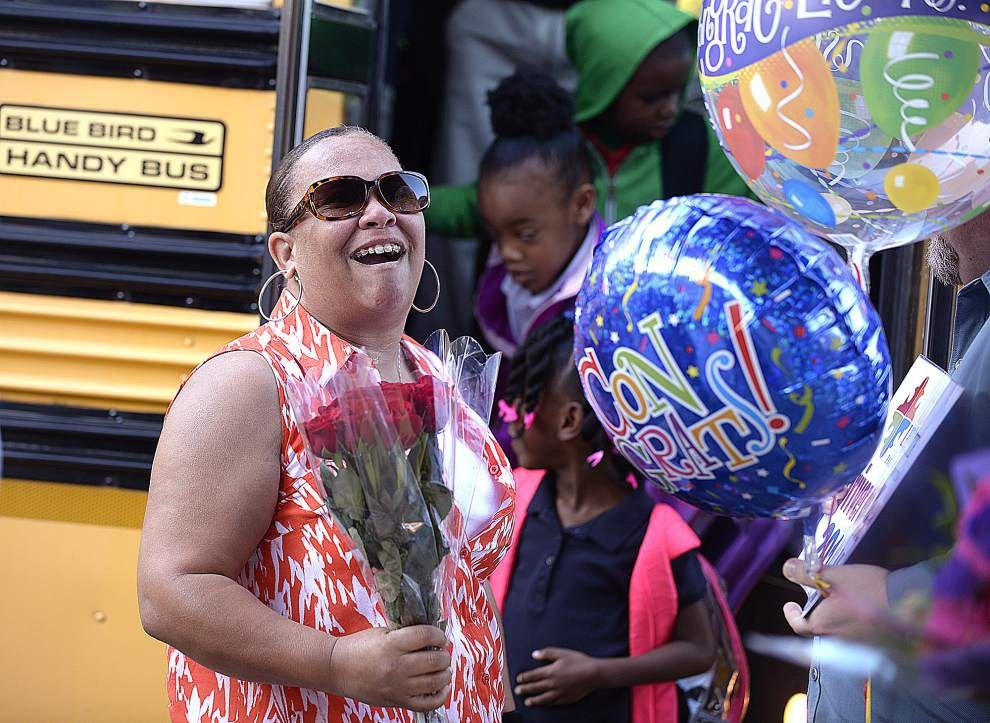 Stella Porter honored as Lafayette school bus driver of the year _lowres