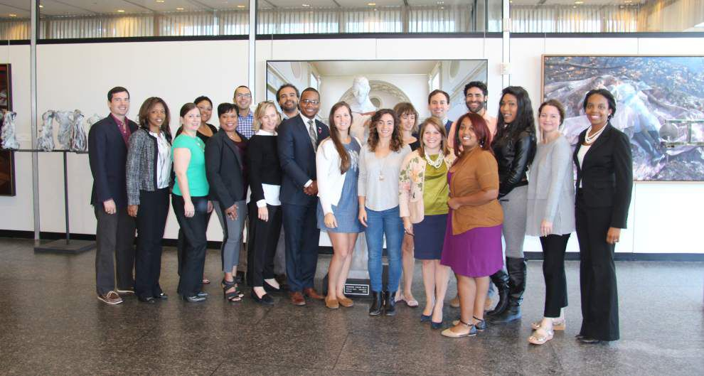Greater New Orleans Foundation Emerging Leaders complete program _lowres