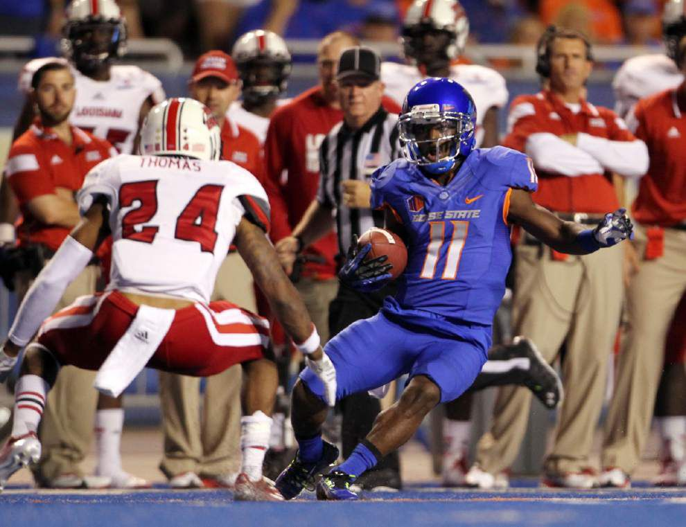 UL-Lafayette sets sights on Sun Belt play after loss at Boise State _lowres