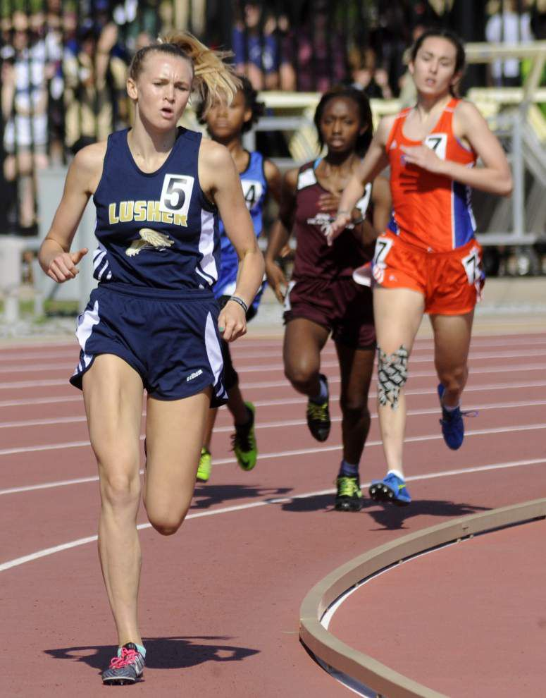 Lusher girls capture Class 3A track title _lowres