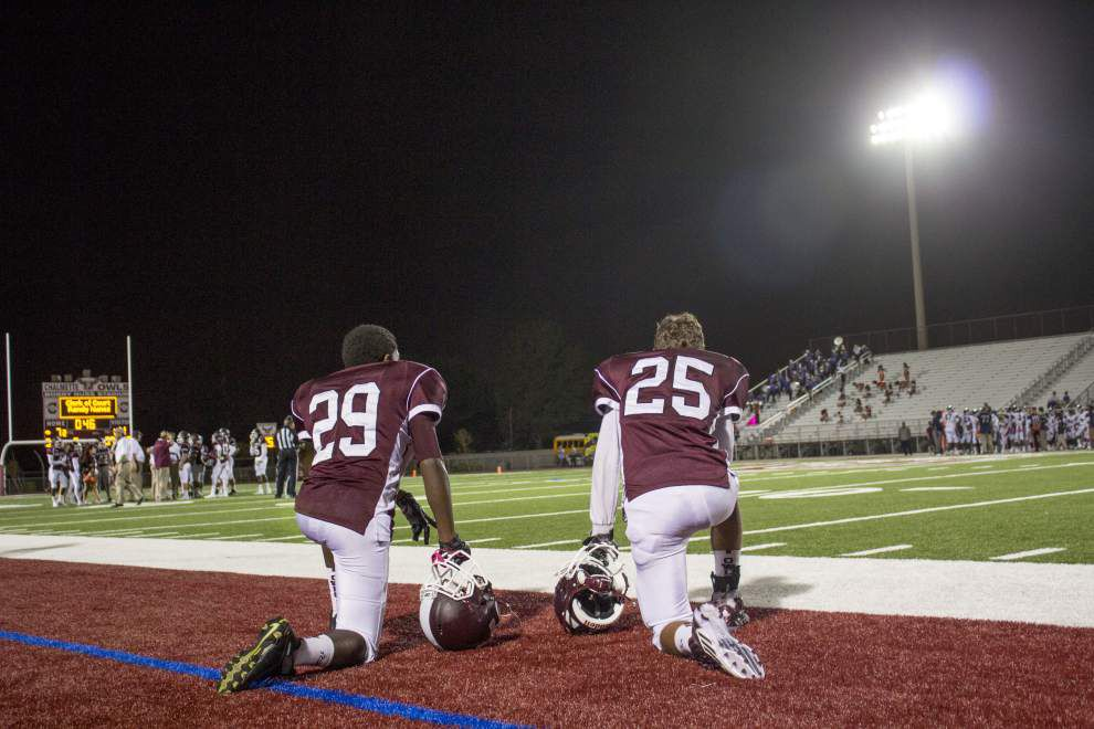 John Ehret unloads on Chalmette, jumps into a first-place tie in District 8-5A _lowres