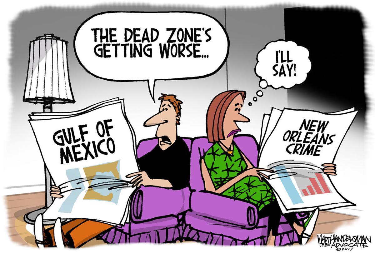 Walt Handelsman: Dead Zone