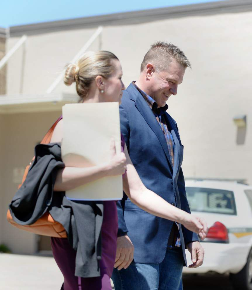 Lafayette Marshal booked into jail in contempt of court conviction in public records lawsuit _lowres