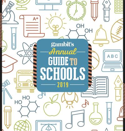annual school guide gambit cover