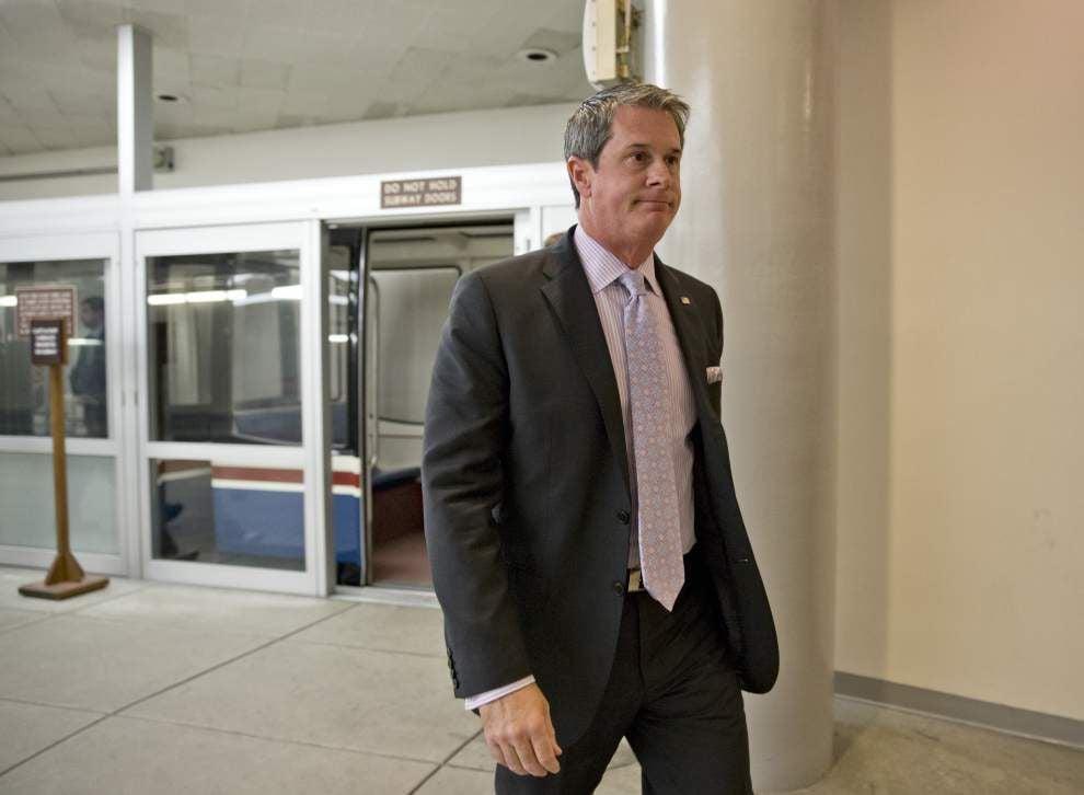 Thanks for 'stupid,' U.S. Sen. David Vitter tells Minority Leader Harry Reid _lowres