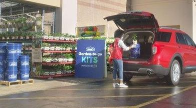 Lowes: Garden-to-go kits in April 2021