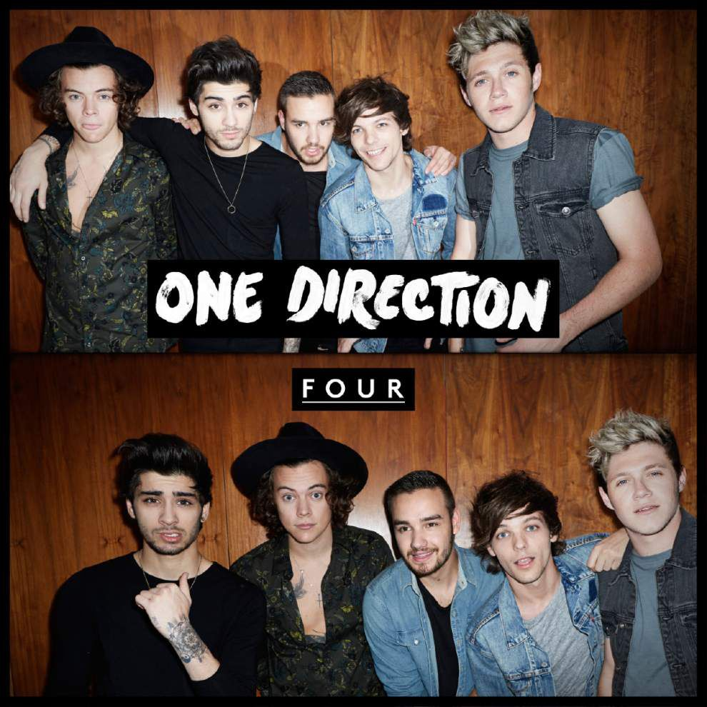 One Direction's 'Four' teen dream in song _lowres