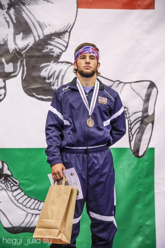 St. Tammany wrestler Sammy Jones on track toward Olympics _lowres