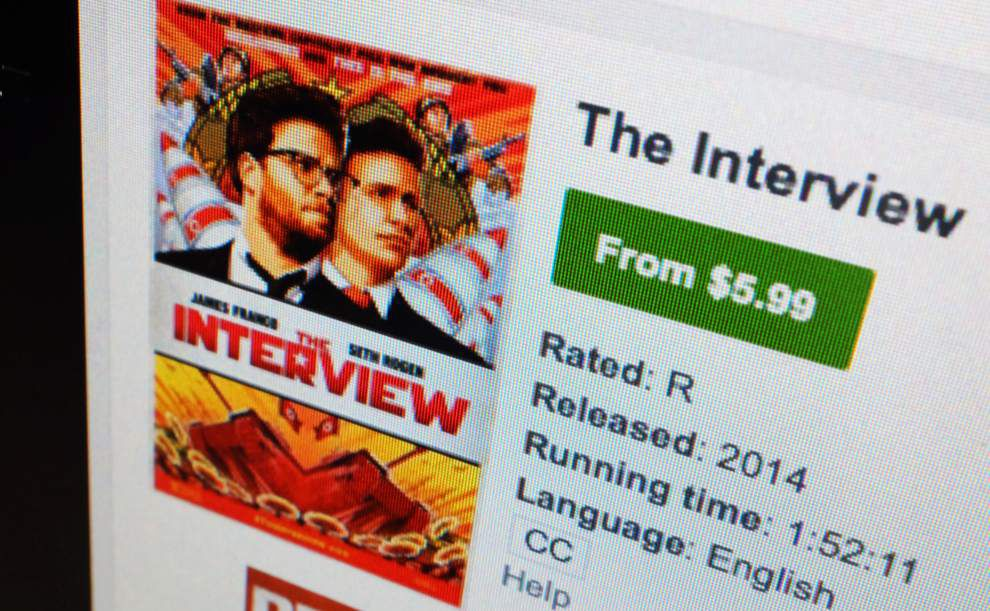 'The Interview' expands video-on-demand access _lowres
