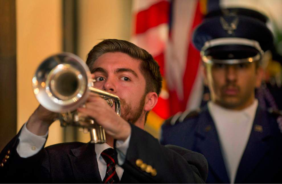 LSU's Memorial Day ceremony honors fallen soldiers _lowres