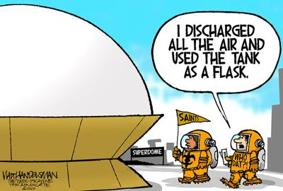 With 543 entries, check out these hilarious Who Dat punchlines in Walt Handelsman's latest Cartoon Caption Contest!!