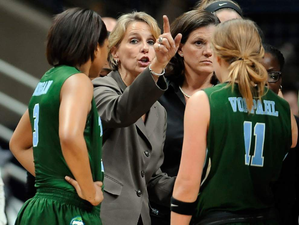 Kolby Morgan's clutch free throws help Tulane women hold off Bama _lowres