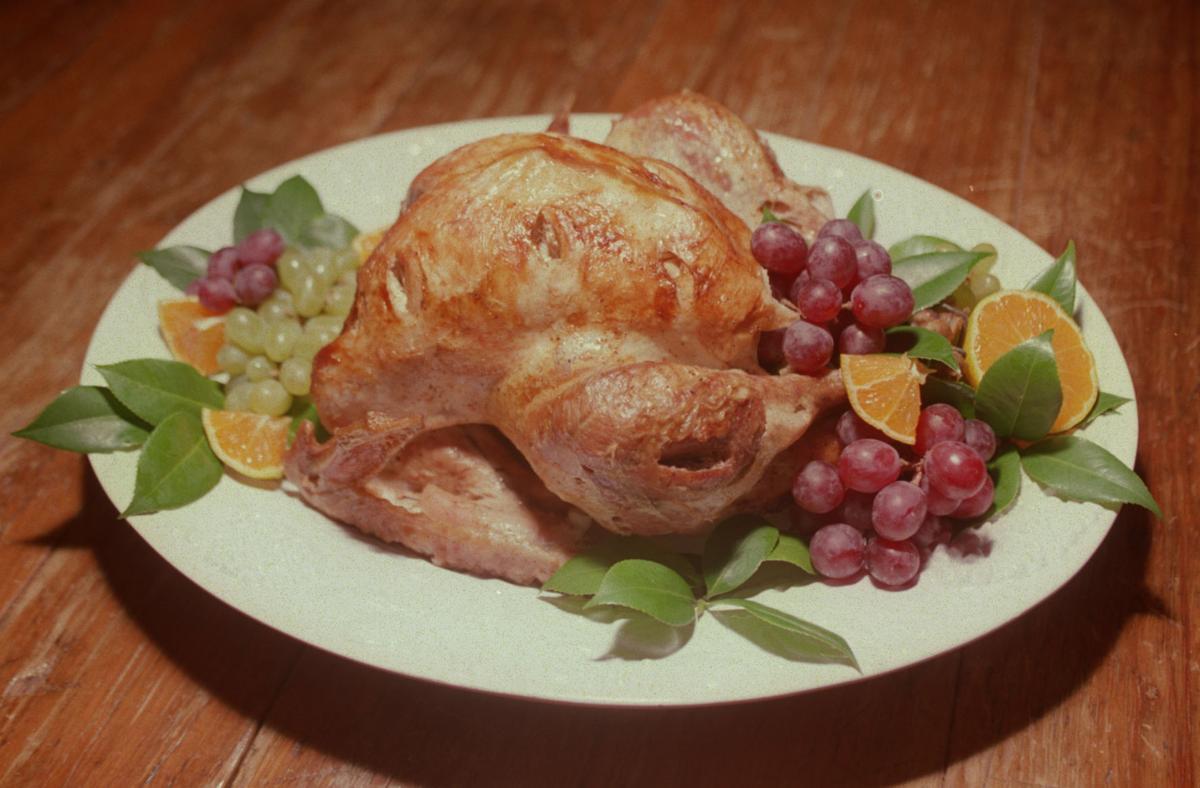 Seasoning the turkey... 11/07/00