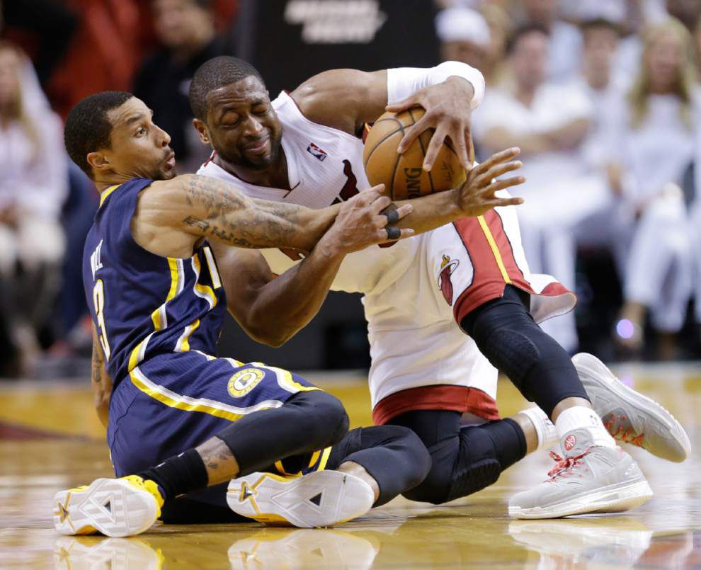 Heat takes command of East finals, 102-90 _lowres