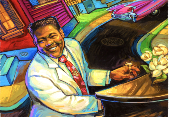 2018 official Jazz Fest posters feature Fats Domino, Big Freedia_lowres