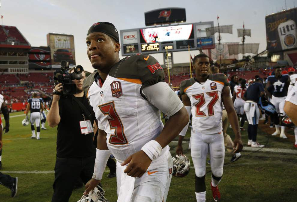 Saints expect Jameis Winston to play much better in second NFL start _lowres