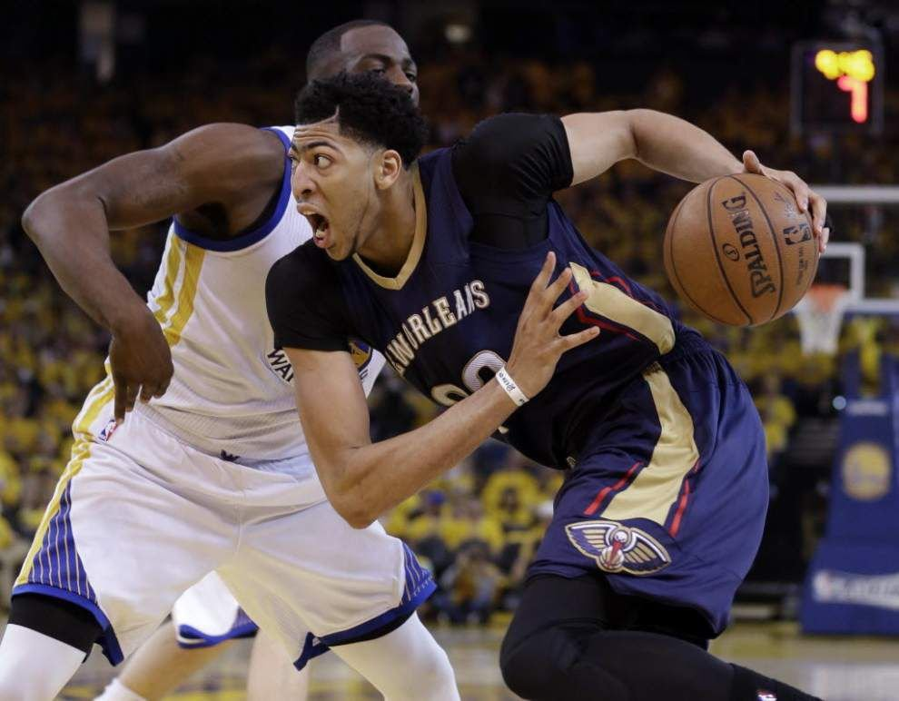 Pelicans forward Anthony Davis 'excited' about what new coach Alvin Gentry can bring to the team _lowres