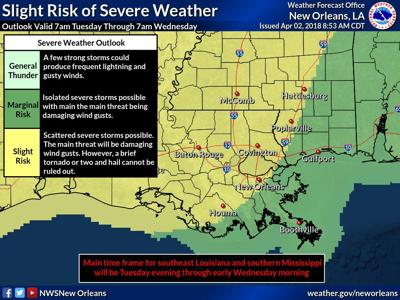 Weather Map For Louisiana.Severe Weather Possible In South Louisiana Before Front Drops