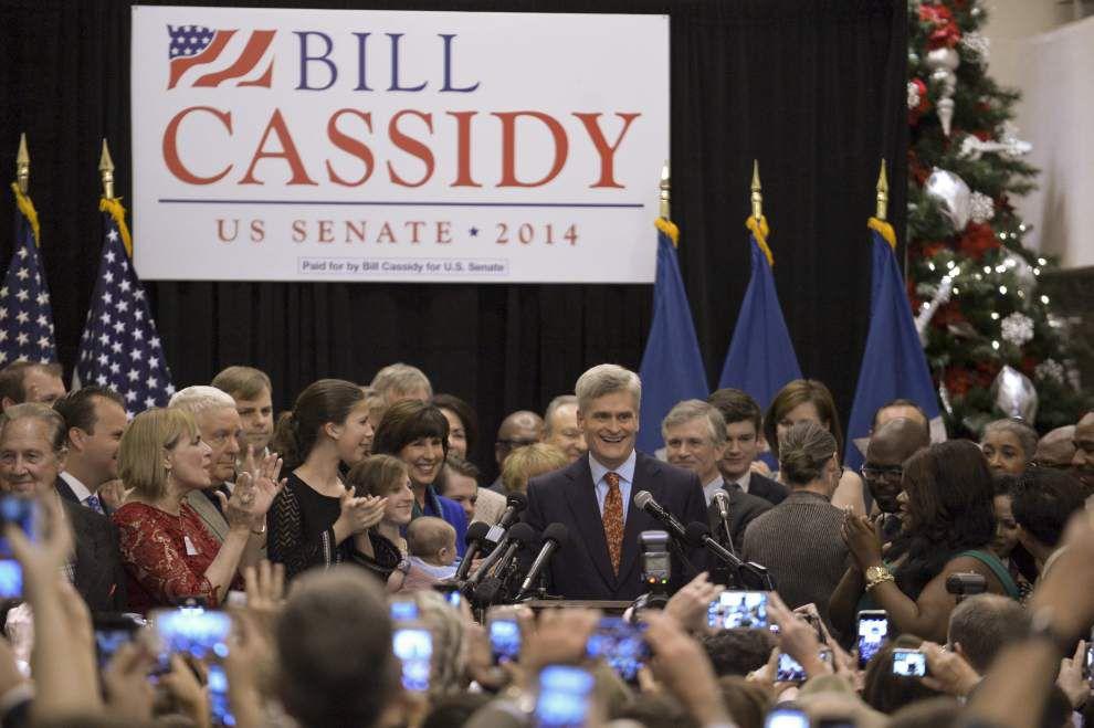 Bill Cassidy wins U.S. Senate; Mary Landrieu concedes _lowres
