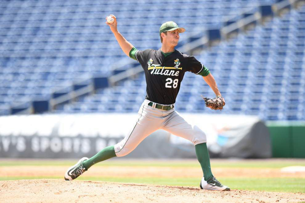 Against the ropes, Tulane baseball sends Alex Massey to mound vs. Ole Miss _lowres