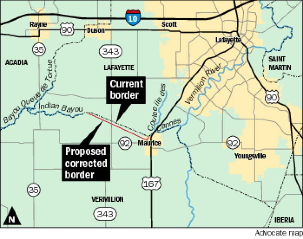 Lafayette-Vermilion boundary dispute continues to smolder _lowres