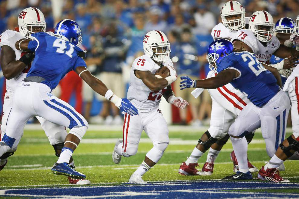 Ragin' Cajuns look for running room against Texas State _lowres