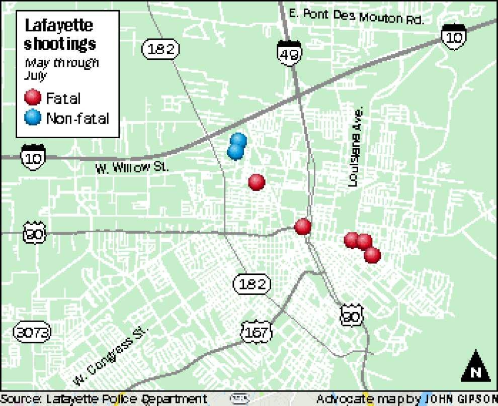 Community and police in north Lafayette look for answers in four homicides since May _lowres