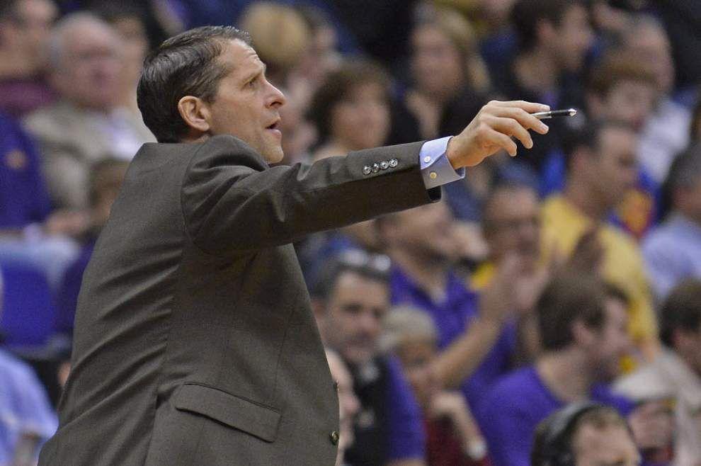 LSU men's basketball associate coach Eric Musselman takes job at Nevada _lowres