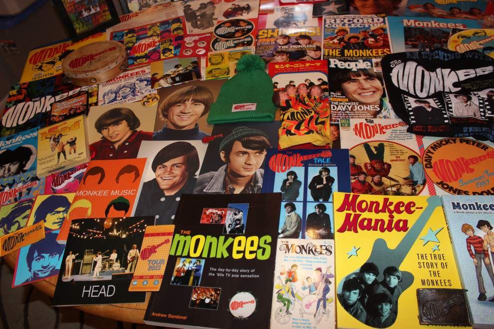 Hey, hey, he's a huge fan: New Orleans man fills his life, home with Monkees memories _lowres