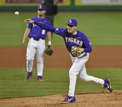 Freshman pitcher Cole Henry shines as LSU baseball evens series against Florida