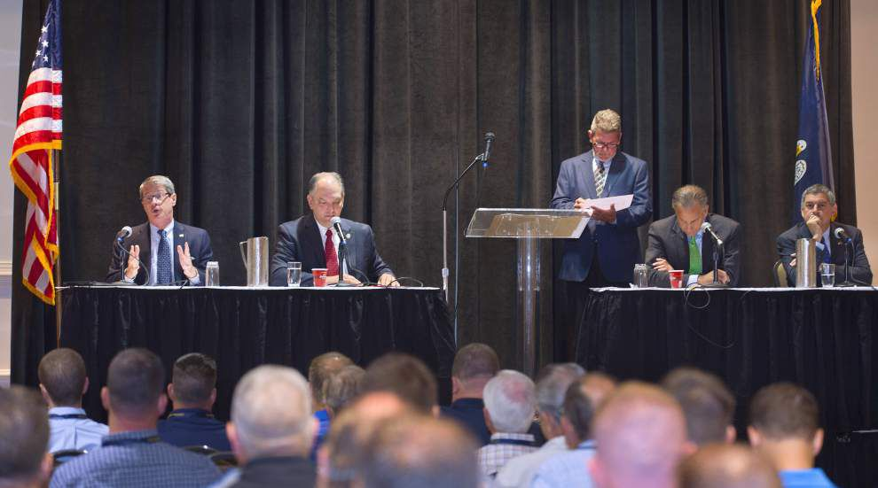 Gubernatorial contenders back State Police in New Orleans but other solutions need to be found _lowres