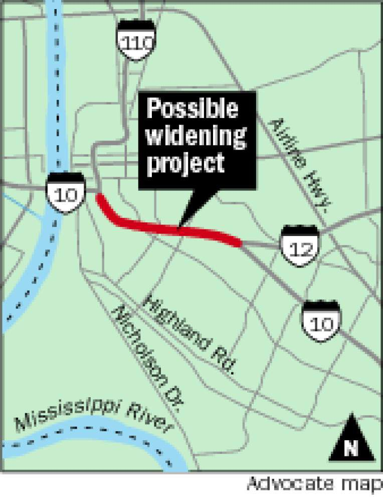 Despite failed efforts in past, DOTD official sees 'momentum building' to widen I-10 between bridge, I-10/12 split _lowres