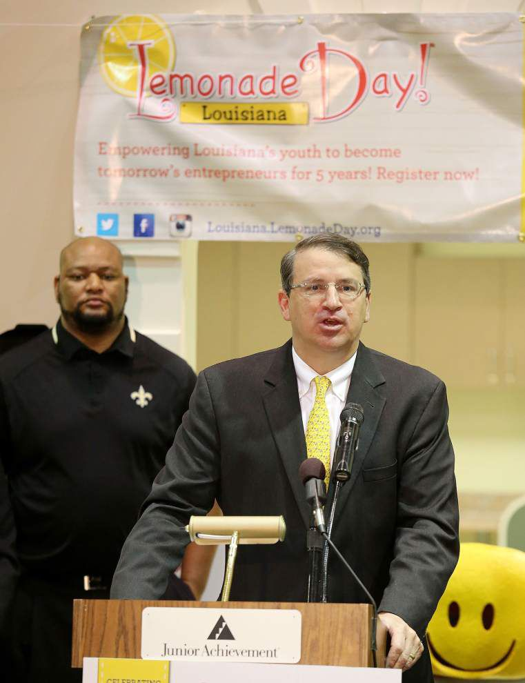 Leaders announce launch of fifth annual Louisiana Lemonade Day; 18,000 are expected to participate _lowres