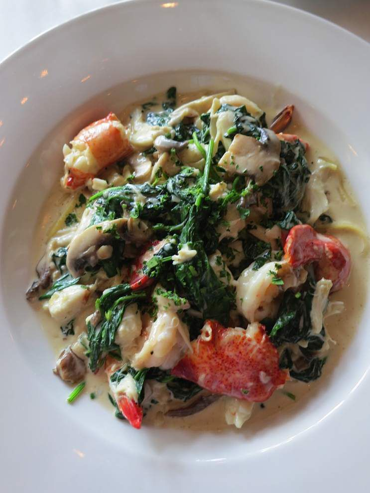 Digging In: Shellfish and sherry swim in hearty Marcello's dish _lowres