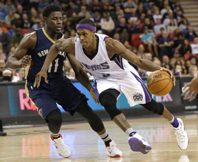 cfd84ec88fa  Jekyll and Hyde  Pelicans return home looking for consistency against  Hornets  lowres. Sacramento Kings guard Rajon Rondo ...
