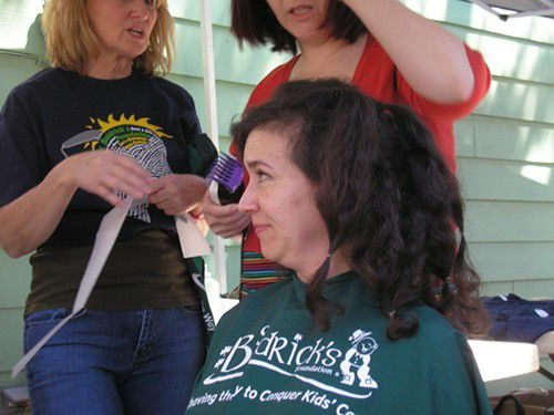 Getting a shave on St. Baldrick's Day_lowres