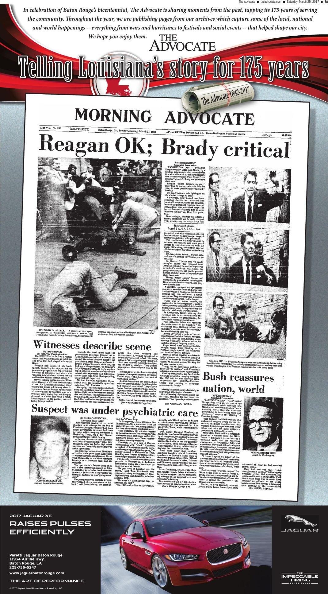Reagan OK Brady Critical