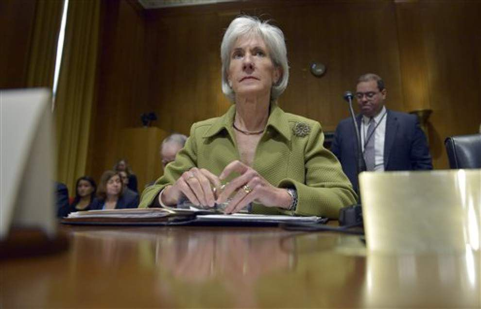 Sebelius resigning from top HHS post _lowres